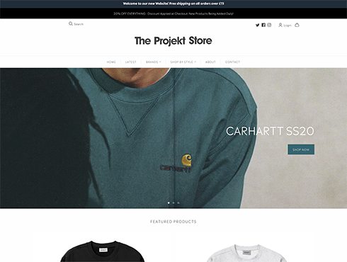 Shopify Website Designer Caterham - Surrey